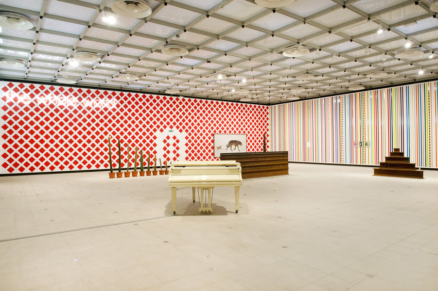 Martin creed whats the point of it hayward gallery 2014 installation view photo linda nylind 2 901 xxx q85